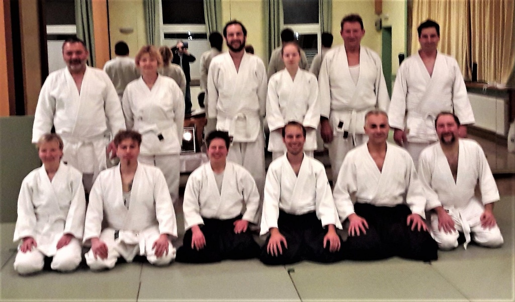 Traditionelles Weihnachtstraining beim Aikido Kemnath e.V.