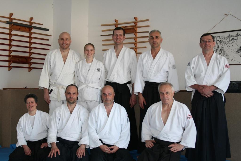 Stiftland Aikido Freundschaftstraining in Tachov