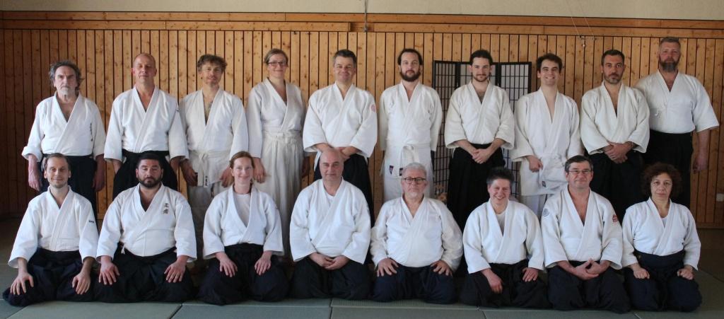 Stiftland Aikido Lehrgang mit Ivano Rodolfi