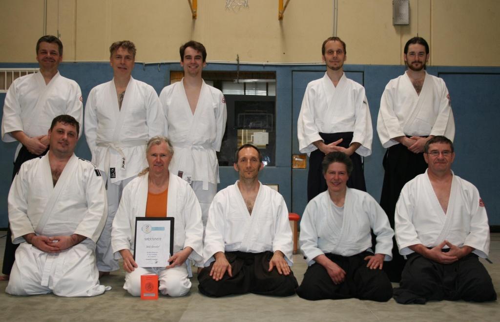 Stiftlandtraining in Tirschenreuth mit Prüfung zum 5.Kyu Stiftland Aikido