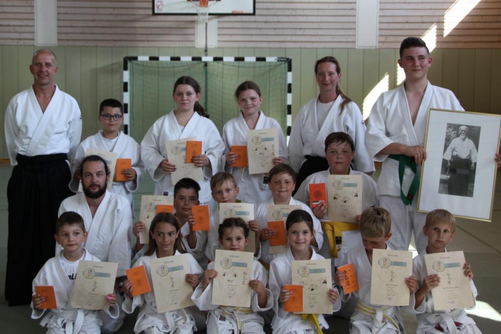 Stiftland Aikido Gürtelprüfungen in Kastl