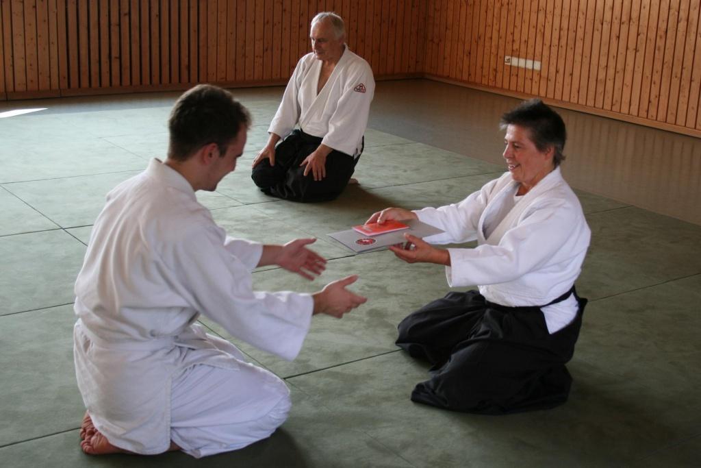 Stiftland Aikido Prüfung in Premenreuth