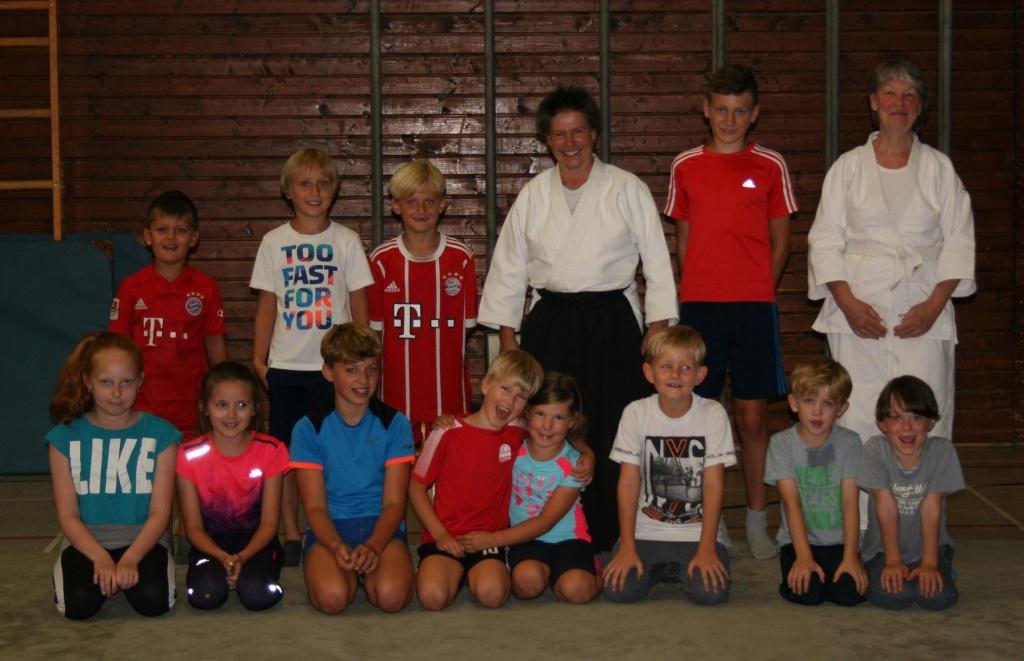 Stiftland Aikido Ferienprogramm in Tirschenreuth