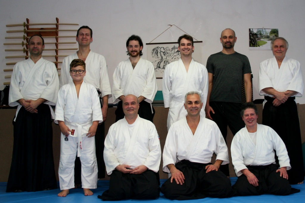 Stiftland Aikido Adventstraining in Tachov