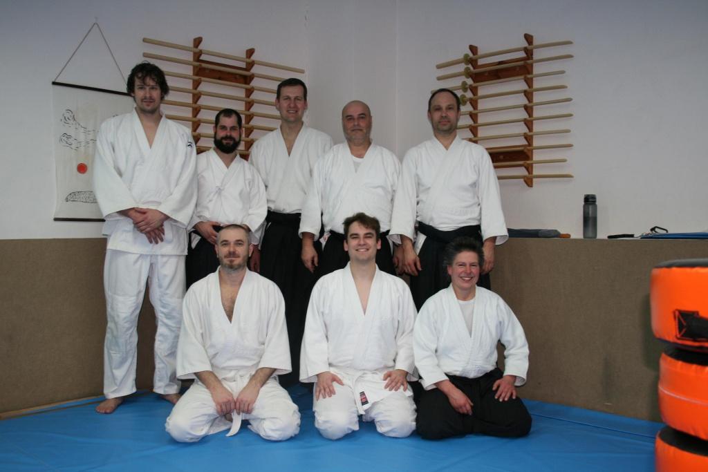 Stiftland Aikido Prüfungsvorbereitungslehrgang mit Margret Schels