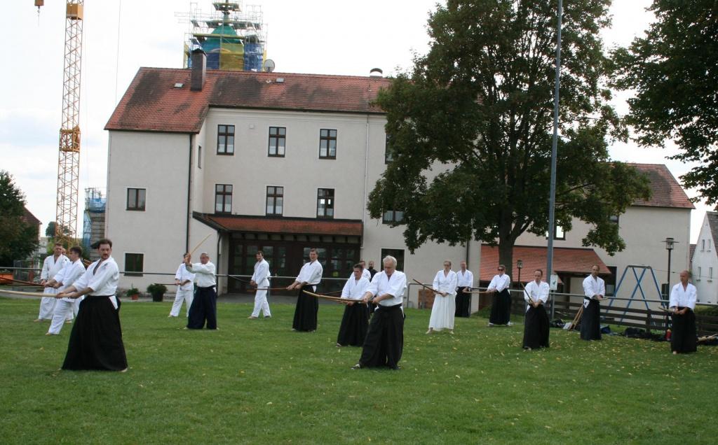 Stiftland Aikido Jahreshauptversammlung mit Trainingseinheit