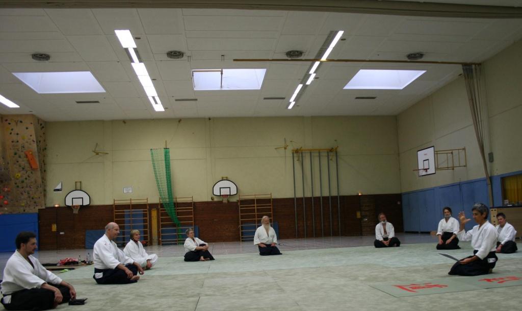 Stiftland-Aikido e.V. – Lehrgang mit Donatella in Tirschenreuth