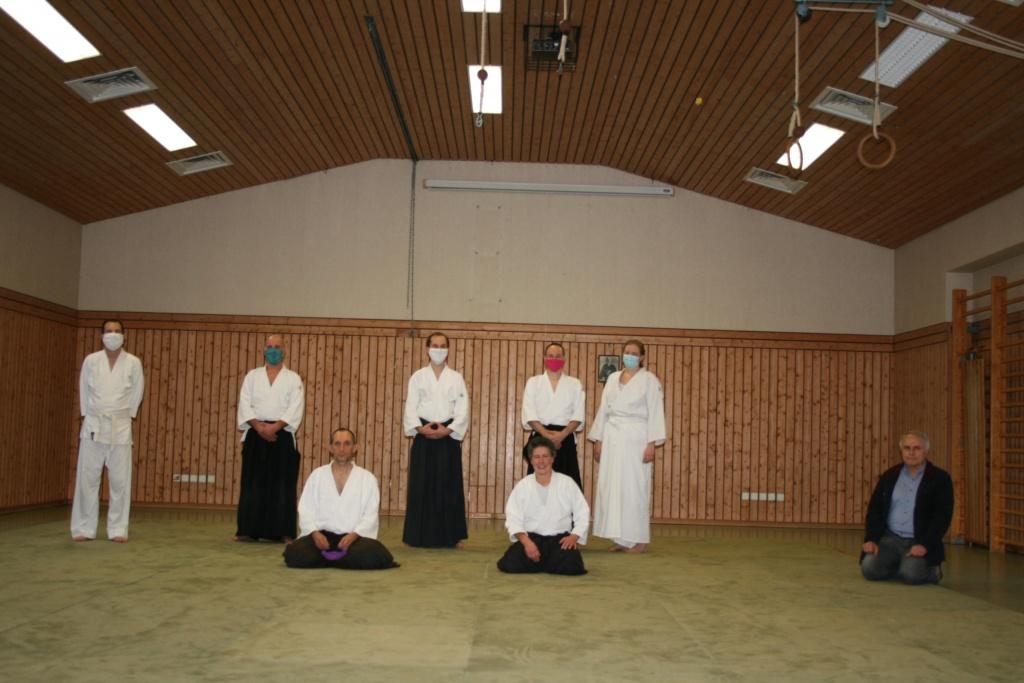 Stiftland-Aikido e.V. – Prüfung in Premenreuth