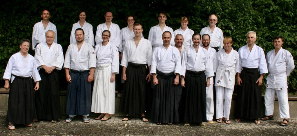 Aikido-Jahrestrainig in Tirschenreuth